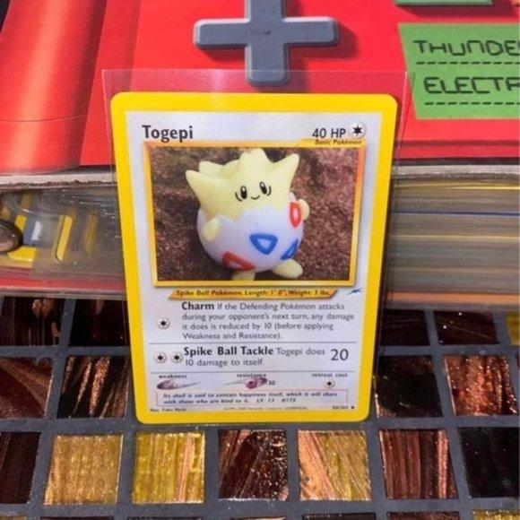 Pokemon cards Togepi